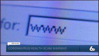 AG Warning on Coronavirus Scams