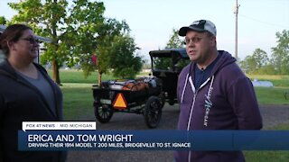 Tom and Erica Wright go to the Annual St. Ignace Car Show Weekend every year, save last year as it was canceled due to COVID-19.