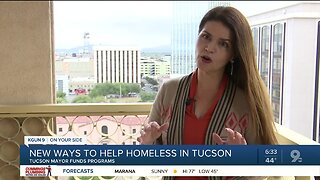 City of Tucson funds new programs to help homeless