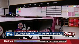 Bill proposed to give school nurses access to Narcan