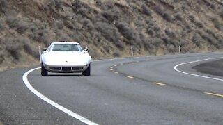 1973 Corvette on the road