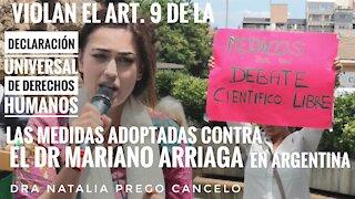 Homenaje al Dr Mariano Arriaga desde España