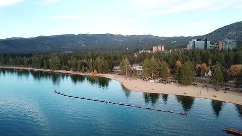 Lake Tahoe, California   Aerial 4K Drone Footage