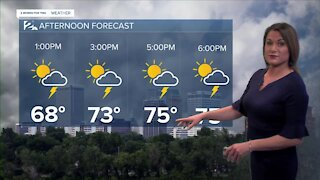 2 News Meteorologist with your Saturday afternoon forecast