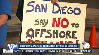 San Diego mayor, other state mayors to talk offshore drilling
