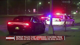 Detroit Police Chief addresses concerns from officers
