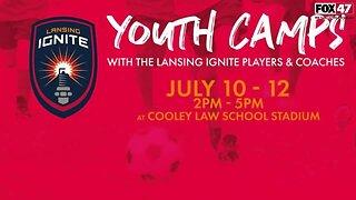 Lansing Ignite Preparing the Next Generation of Soccer Players