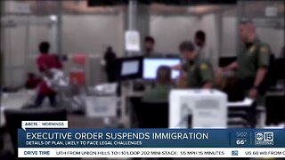 Executive order suspects immigration