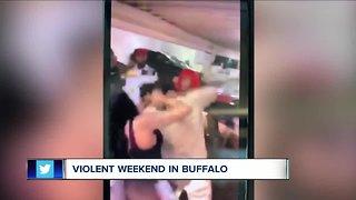 Caught on Camera: Parking ramp brawl