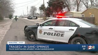 Sand Springs police investigate apparent double murder-suicide
