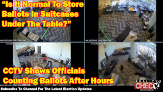 Georgia Hearing: SHOCKING CCTV Evidence Of Georgia Officials Taking Ballots Out Of Suitcases