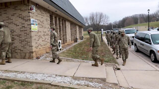 Medical Detachment Administers COVID-19 Vaccines to Soldiers