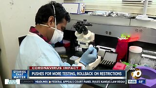 Pushes for more testing, rollback on restrictions