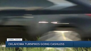 Oklahoma Turnpike Authority removing cash pay tolls