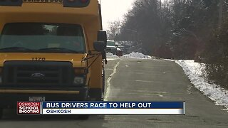 Unsung Heroes: Bus drivers evacuate students after shots fired