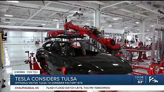 Tesla selects Tulsa as finalist for new assembly plant