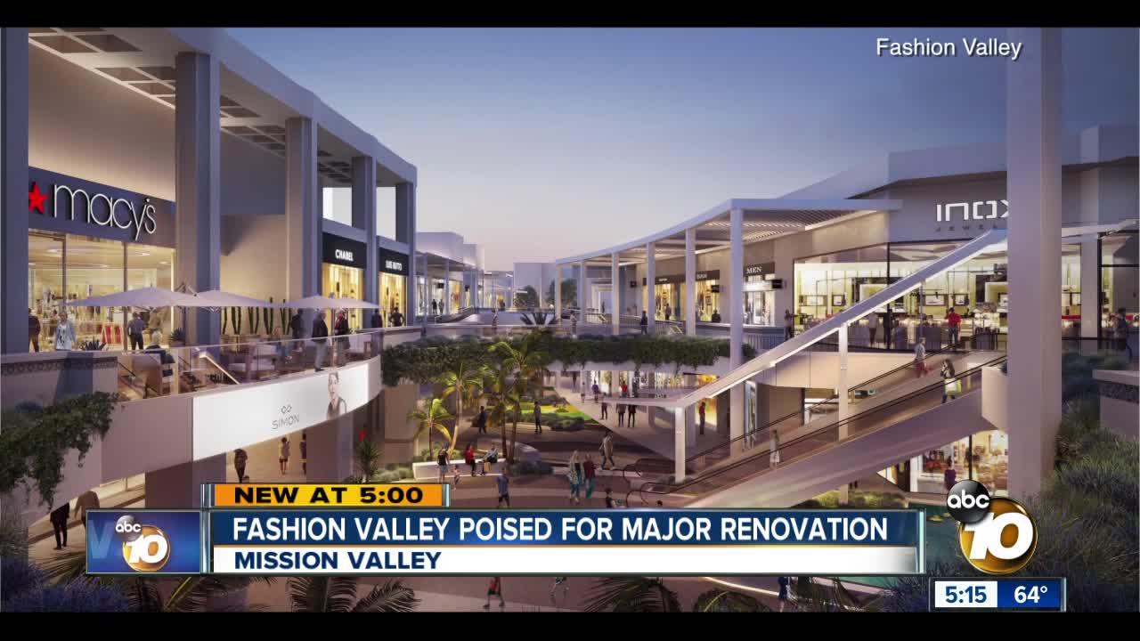 Fashion Valley mall poised for multimillion dollar renovation
