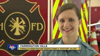 Farmington Hills firefighter keeps family history alive