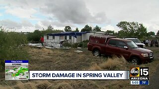 Spring Valley hit by severe storms in Yavapai County