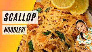 Scallop Noodles