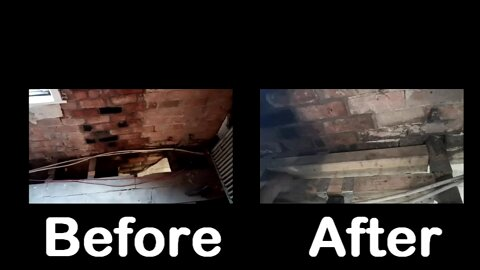 Floor remodeling after chimney remodel, adjustments and comments