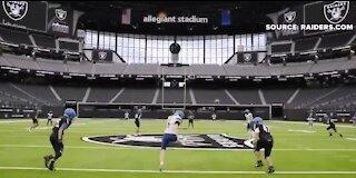 Las Vegas highschooler makes history at Allegiant Stadium