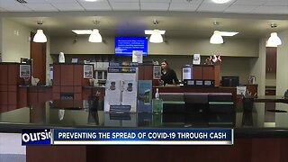 Local banks working to prevent the spread of COVID-19