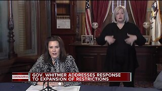 Whitmer: Michigan's COVID-19 curve is starting to flatten