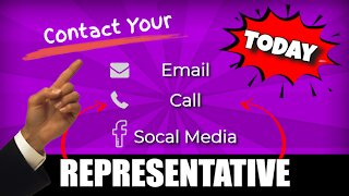 Contact Your Representative   Save Our Freedom of Election   Your Vote Counts