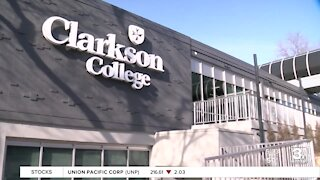 Clarkson College holds ribbon-cutting ceremony for new education center