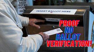 Proof of NO BALLOT VERIFICATION! Georgia Hearing 12-11-2020