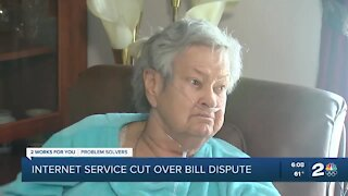 Dispute over internet bill leaves mother without life alert