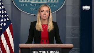 1/7/21: Press Secretary Kayleigh McEnany Holds a Press Briefing