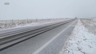 Conditions in northeast Colorado as storm bears down