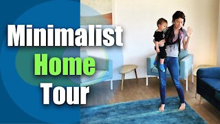 Large Family Minimalist Home Tour / Minimalist Family Apartment Tour