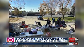 Blade Closet helps students in need