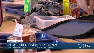 New food assistance program for families