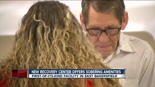 New recovery center offers sobering amenities