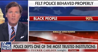 Tucker Carlson slams radical leftists who want to 'defund the police'