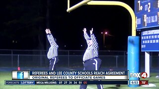 Local football referees reach agreement with Lee County