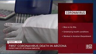 First coronavirus death in Arizona was City of Phoenix employee
