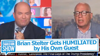 Brian Stelter Gets HUMILIATED by His Own Guest