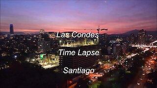 Las Condes time lapse Santiago, Chile