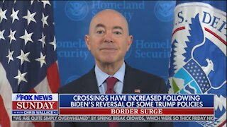 Biden DHS Secretary BLAMES TRUMP for Border Crisis He Created