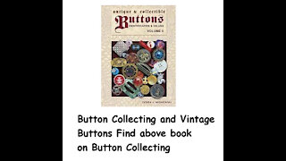 Button Collecting and Vintage Buttons