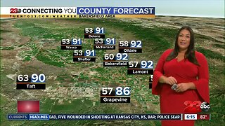 Cooler weather coming mid-week