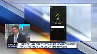 Upraze app helps homeowners value their home