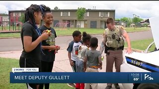 TCSO deputy turns treats into connections