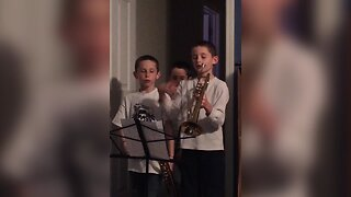 Trumpet vs Toddler