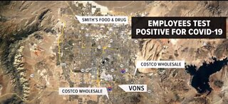 Multiple Vegas stores report COVID-19 positive tests